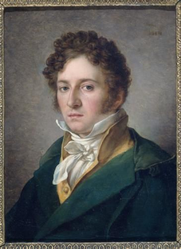 Portrait d'homme ,1814.