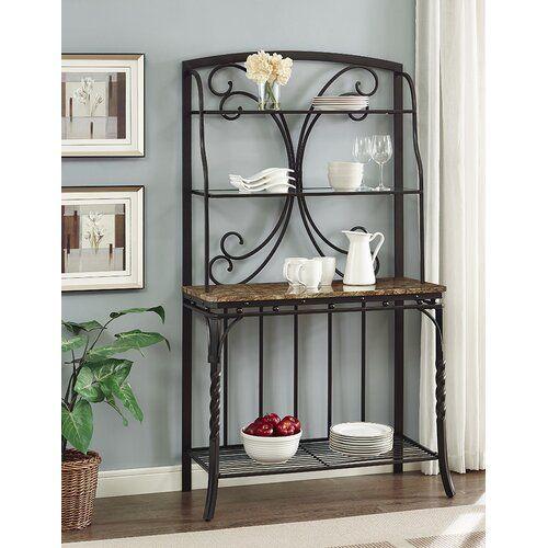 Vaughan Wrought Iron Baker S Rack Bakers Rack Furniture Home Decor