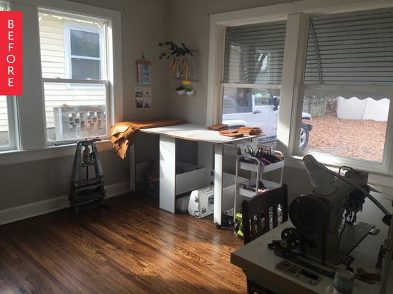 Before & After: A Shiplapped Space for Under $150