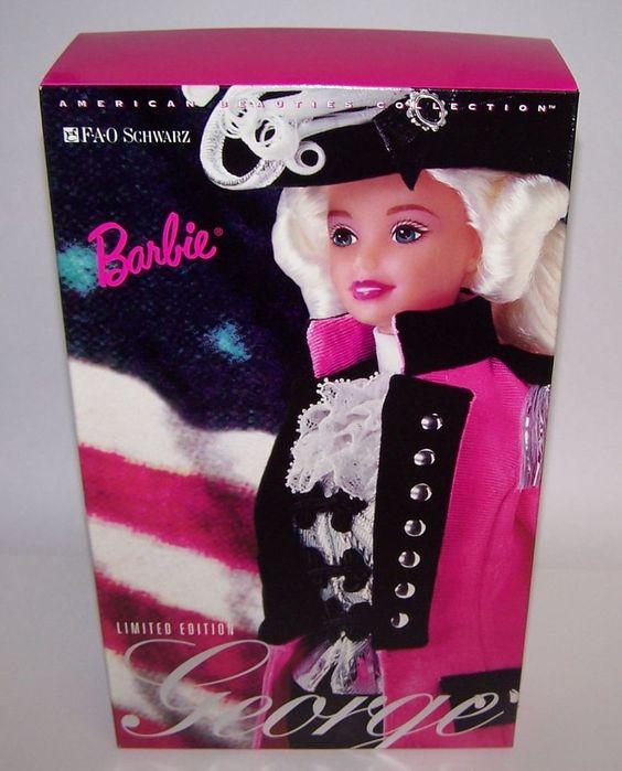 FAO Schwarz George Caucasian Barbie Doll Mattel 1996 American Beauties NIB  #Barbie