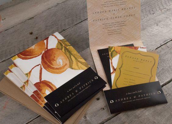 Trees, Invitations and Pocket wedding invitations on Pinterest