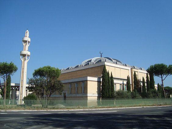 Mosquée de Rome - Italie