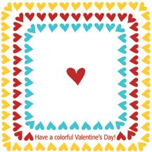pdf printable - using for joys heart crayons we're making for her valentines day party at preschool!!!
