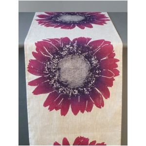 Dermond Peterson Daisy - Violet Table Runner