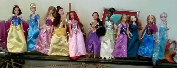 My princess Disney collection