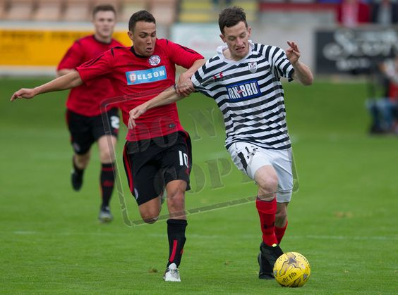 Queen's Park's David Galt in action during the Ladbrokes League One game between Brechin City and Queen's Park.