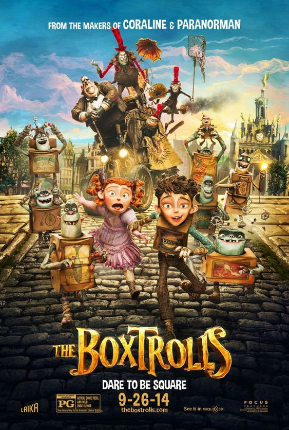 The Boxtrolls (BluRay)