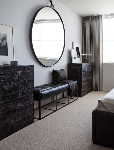 Round Mirrors Ikea Contemporary Bedroom Large Round Mirror Bedroom Dressers
