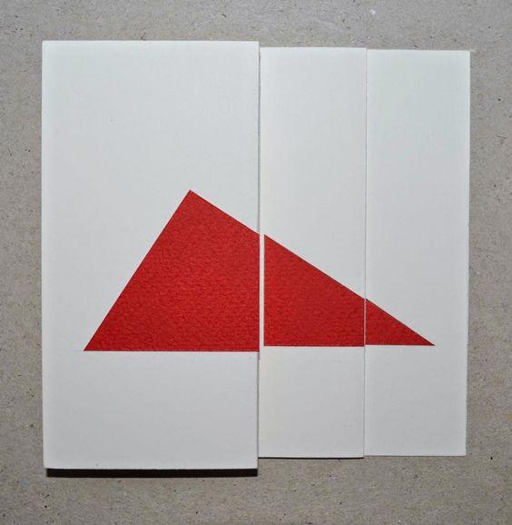 Vía Lucía Ordóñez. Katsumi Komagata. Ilustrador. Imagen a partir del triángulo rectángulo.:
