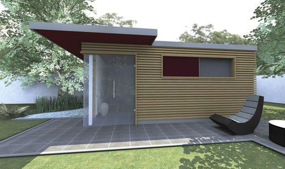 Simple Moderne Sauna Ideen f r den heimischen Garten http teka sauna de teka teka home saunahauser Saunahaus Au ensauna TEKA Pinterest Saunas and
