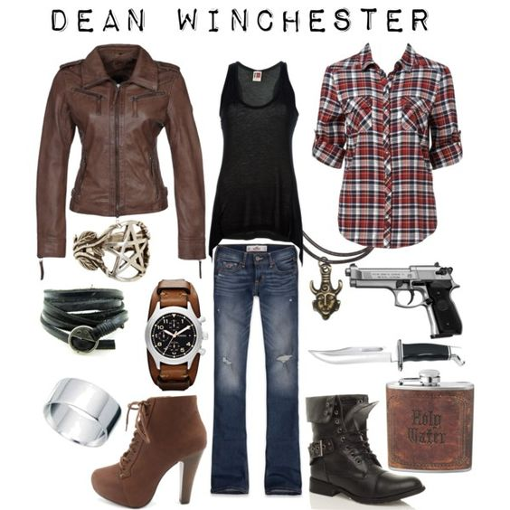 Dean Winchester - Supernatural Inspired Outfit By Shadowsintime On Polyvore Love It All Except ...