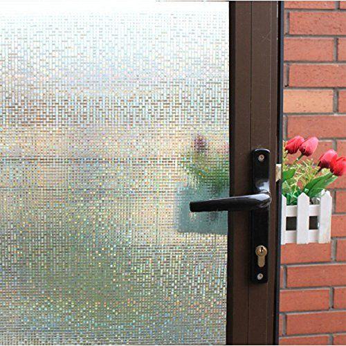 Zealott Fine Lattice Window Film No Glue Small Mosaics De Https