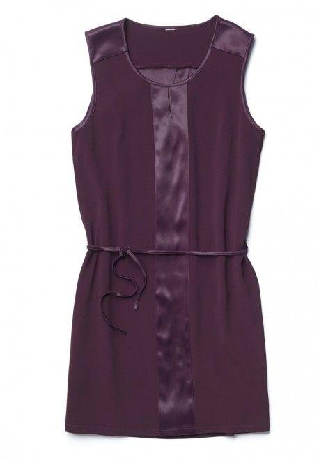 Robe en satin confort et style assuré #robe #satin #femme