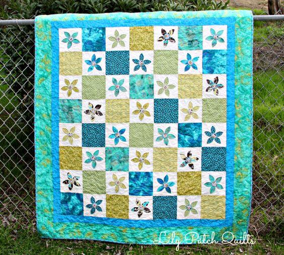 Lily Patch Quilts: Daisy Applique Quilt