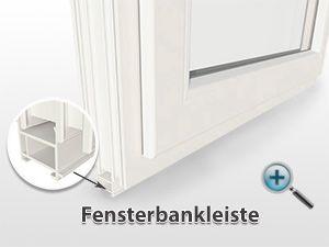 """Die Fensterbankleiste wird bei den Kunststofffenstern von Fensterhandel.de unten an das Profil """"drangeklippst"""". Zum einen dient die Fensterbankleiste als thermische Trennung und zum anderen wird an diese die Fensterbank angeschraubt. Mehr dazu gibt es unter: http://www.fensterhandel.de/erklaerung-fensterbankleiste/"""