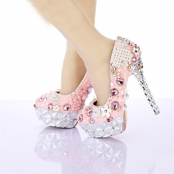 Sapato de luxo festa