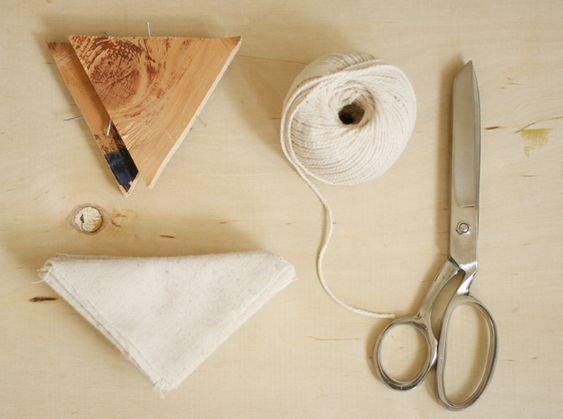 Poppytalk: DIY - Hand Dyed Shibori Pillows