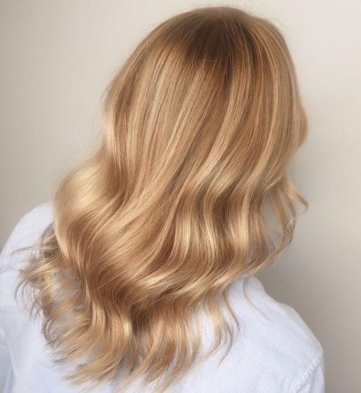 Antique Gold Hair Is The New Kind Of Blonde That Everyone Needs To