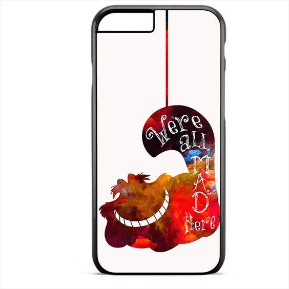 Alice's Cat Phonecase For Iphone 4/4S Iphone 5/5S Iphone 5C Iphone 6 Iphone 6S Iphone 6 Plus Iphone 6S Plus