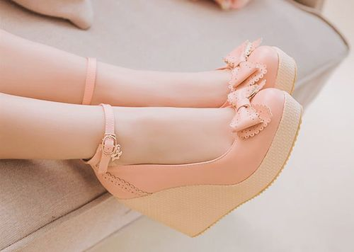 Lolita, shoes, sweet, bow