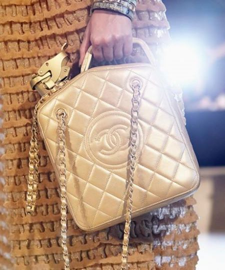 Chanel Gas can bag