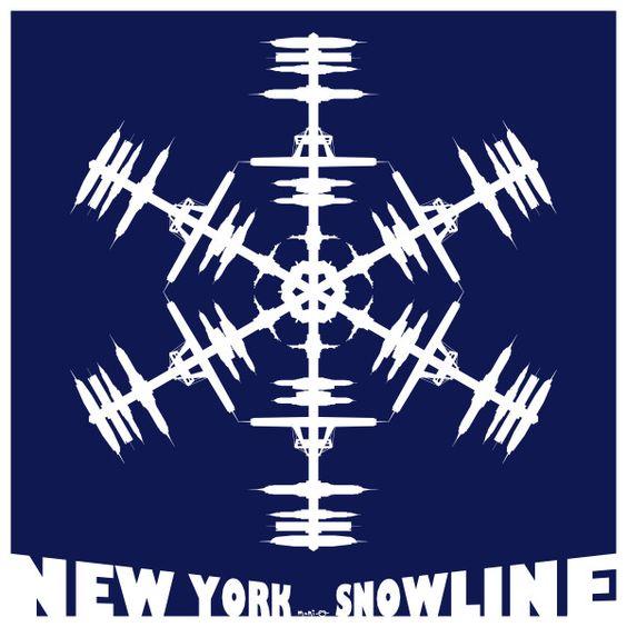 Snowflake + Skyline = Snowline  Version New York