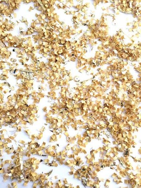 Coriandoli per matrimonio oro. Confetti. #wedding