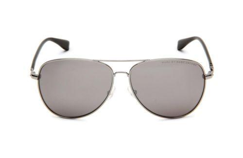 Marc By Marc Jacobs MMJ 299/S Sunglasses 085K Ruthenium Black/silver mirror 59MM $65