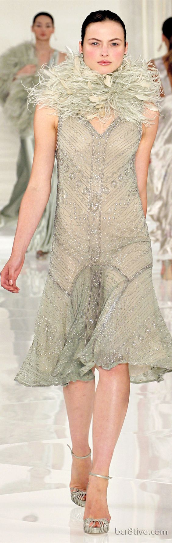 Commemorating a Classic \u0026amp; Timeless Collection \u2013 Ralph Lauren Spring Summer 2012 Haute Couture