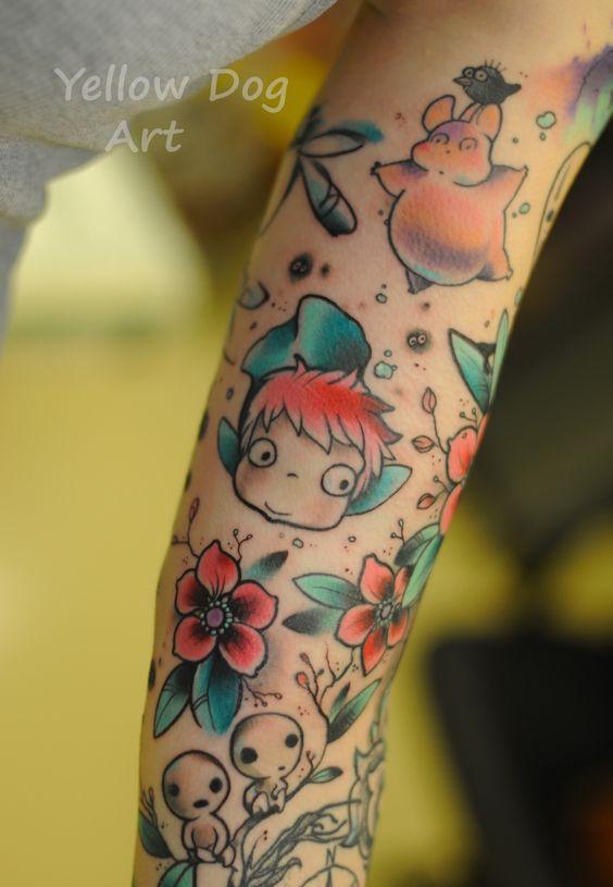 tattoo Studio Ghibli