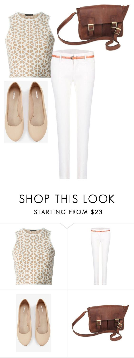 """""""Untitled #127"""" by lbrownmonson ❤ liked on Polyvore featuring Alexander McQueen, Express and NOVICA"""