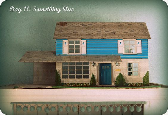 30 Day photo challenge Day 11: Something blue from Every Day is a Holiday.