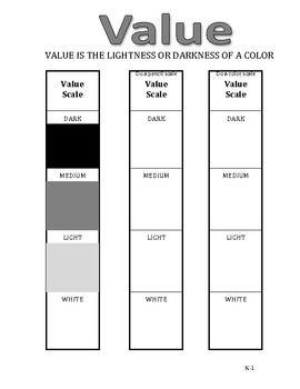 Worksheet Elements Of Art Worksheets elements of art and worksheets on pinterest workbook pages k 1st grade