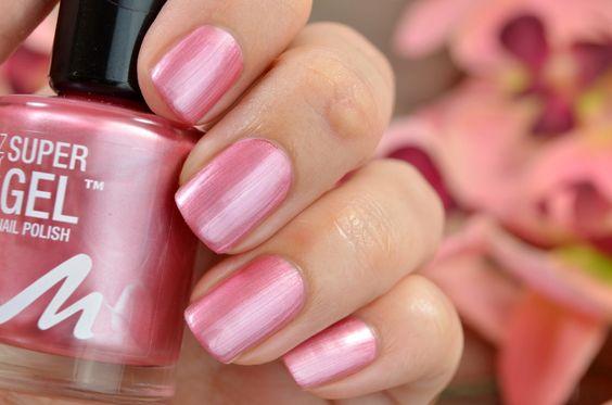 #285 Pretty Rose aus der Manhattan Super Gel Nail Polish Reihe