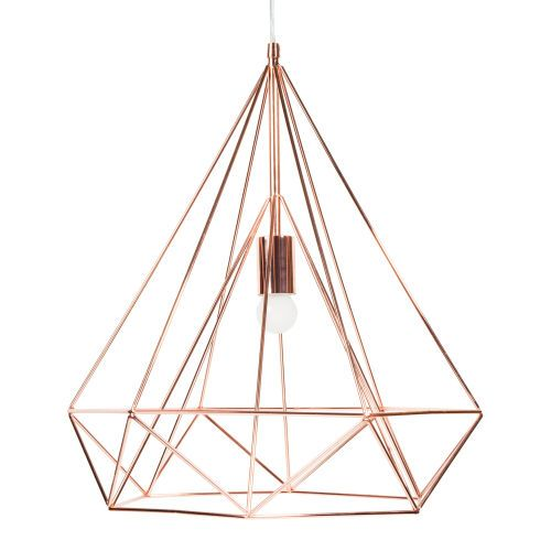 Suspension en m tal d 45 cm diamond 90 maisons du monde product love lights pinterest for Suspension luminaire maison du monde