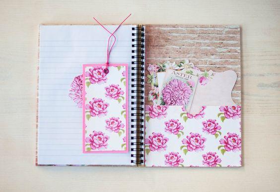 Cuaderno primaveral  www.pastartu.com