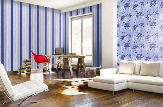 Papier peint design motif floral fleurs EDEM 168-31 brun marron crème blanc argent   5,33 m2