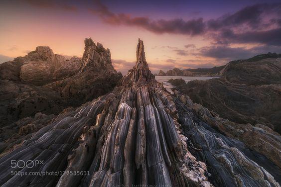 Gueirua Needles by darkrigel. Please Like http://fb.me/go4photos and Follow @go4fotos Thank You. :-)