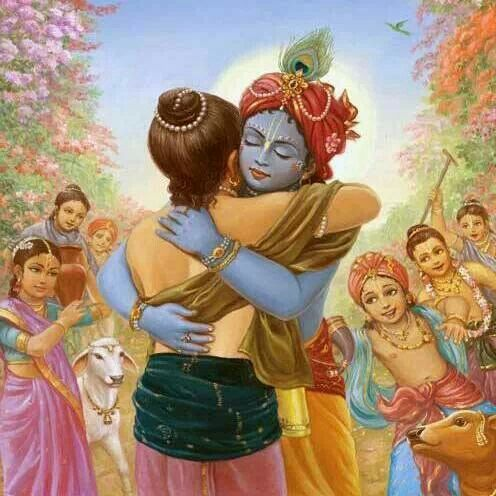 Top Friendship Dav Krishna Sudama HD Wallpaper for free download