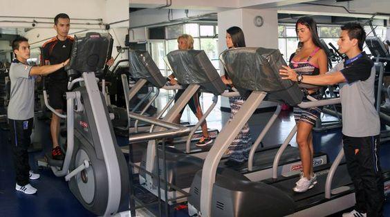 """disfruta con tu familia de la zona de cardio un servicio que cuida de tu salud durante tu estancia en nuestras instalaciones """"ven y no perderas tu rutina de ejercicios"""""""