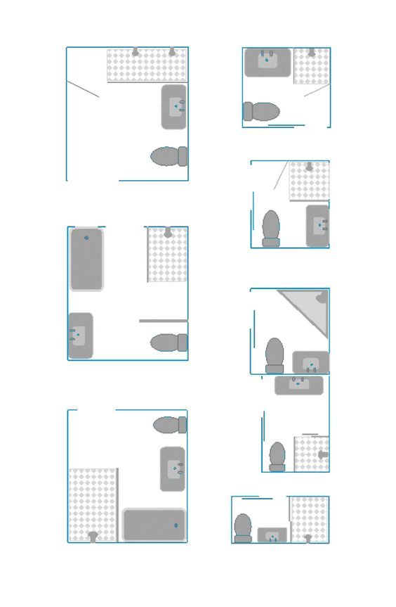 Minis and google on pinterest - Lay outs badkamer ...