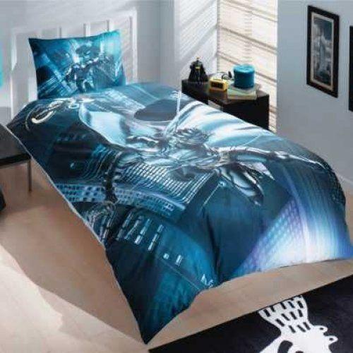 batman dark night single twin duvet quilt comforter cover set 003 licensed merchandise set. Black Bedroom Furniture Sets. Home Design Ideas