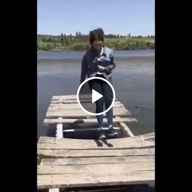 Sera que essas madeira aguentara um super salto