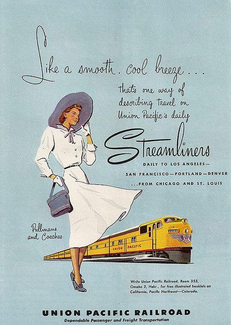 Union Pacific Streamliner 1950