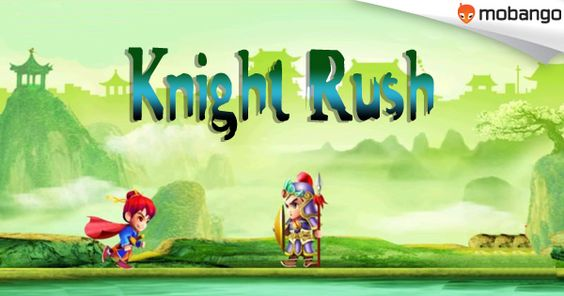 Knight Rush - an exciting and addicting popular ninja style running game. Install on your ‪#‎Android‬ now: bit.ly/Mobango_Knight-Rush