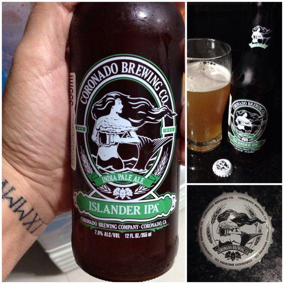 CORONADO BREWING - Islander IPA /// Nota 8,0 / American IPA / Amargor Médio / Fácil de beber / Preço médio - R$ 18,00 / Buddah Beer