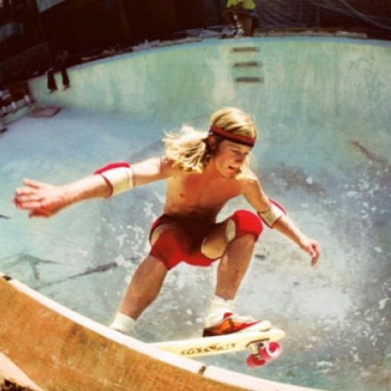 The Upside Of A Drought: Skateboarding In Its Early Years