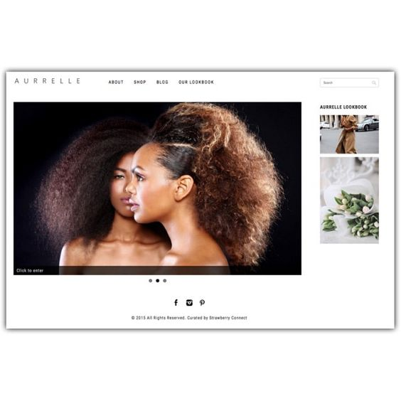 Pretty #website I curated with the aurrelle branding team - go check out the website we put together at www.aurrelle.com || #design #branding #dowhatyoulove #hair #naturalhair #webdesign http://ift.tt/1ItvaXF