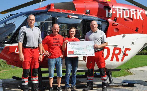 Spende für Göttinger Luftretter   DRF Luftrettung