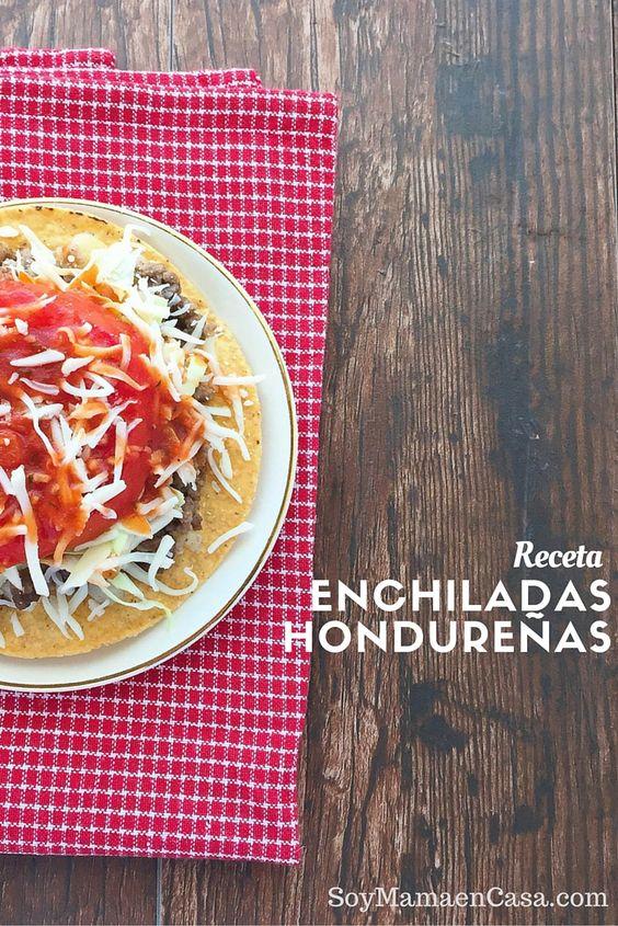 Deliciosa receta de Enchiladas Hondureñas, rápidas y fáciles de hacer. Ideales para preparar en este Regreso a Clases. #CampbellSavings [AD]
